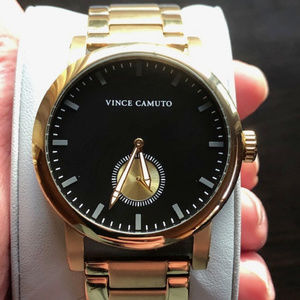 Vince Camuto NWT Gold Tone Stainless Steel Watch